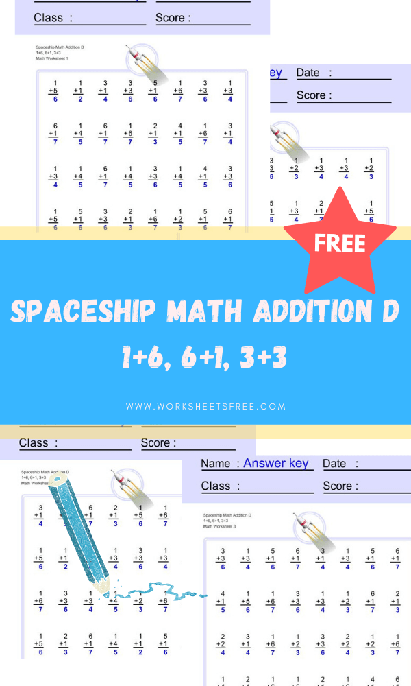 Spaceship-Math-Addition-D