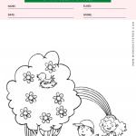 Spring Season Coloring Page