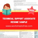 Technical Support Associate Resume Sample