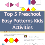 Top 5 Preschool Easy Patterns Kids Activities