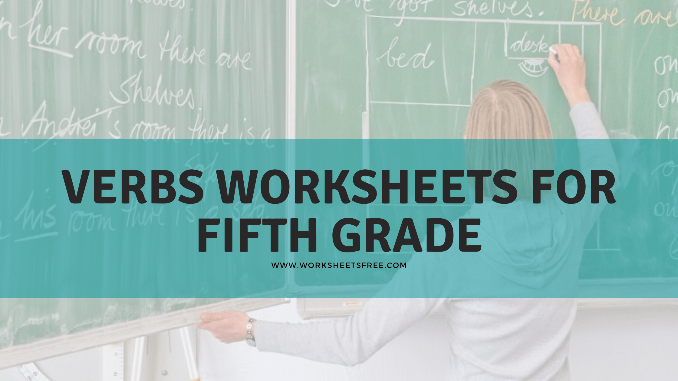 Verbs Worksheets For Fifth Grade
