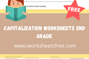 capitalization worksheets 2nd grade