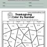 color by number math worksheets 1st grade 2