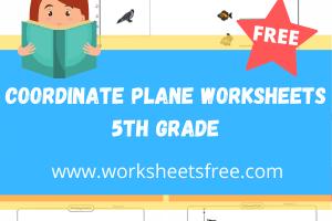 coordinate plane worksheets 5th grade