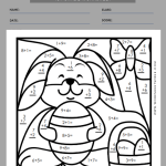 easter worksheets for first grade 7
