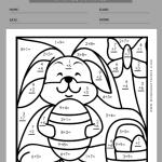easter worksheets for first grade 7