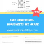 free homeschool worksheets 3rd grade