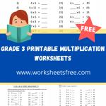 grade 3 printable multiplication worksheets