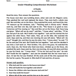 grade 4 reading comprehension worksheets pdf2