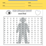 human anatomy worksheets 1