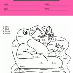 math coloring worksheets 3rd grade4