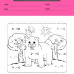 math coloring worksheets 3rd grade6