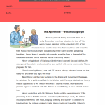 reading comprehension worksheets 5th grade multiple choice 1