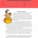 reading comprehension worksheets 5th grade multiple choice 3