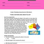 reading comprehension worksheets for grade 3 pdf 1