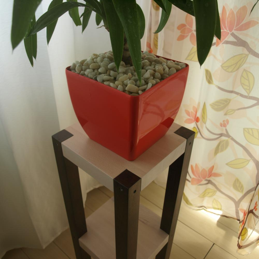Beech wood flower pot stand | WorkshopTherapy.com