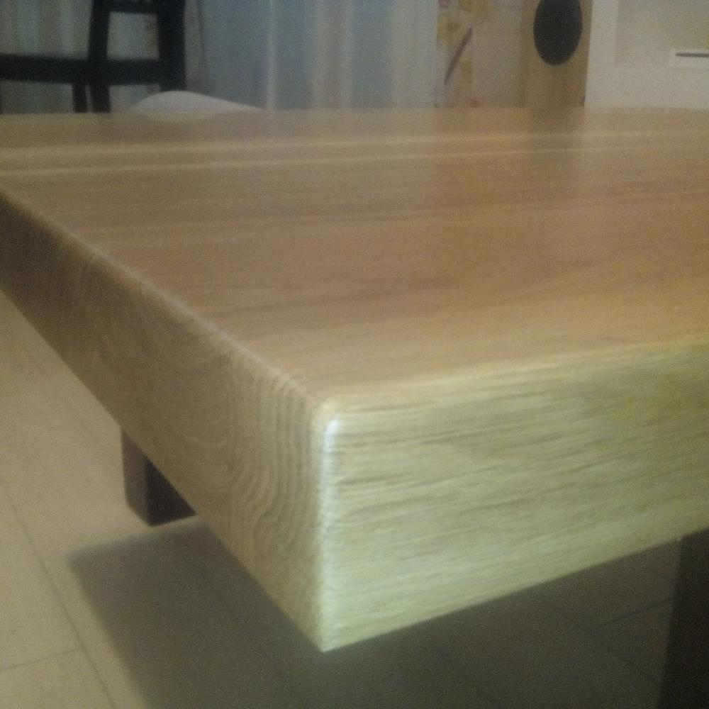 Thick Oak Solid Wood Tabletop WorkshopTherapycom - Where to buy wood for table top