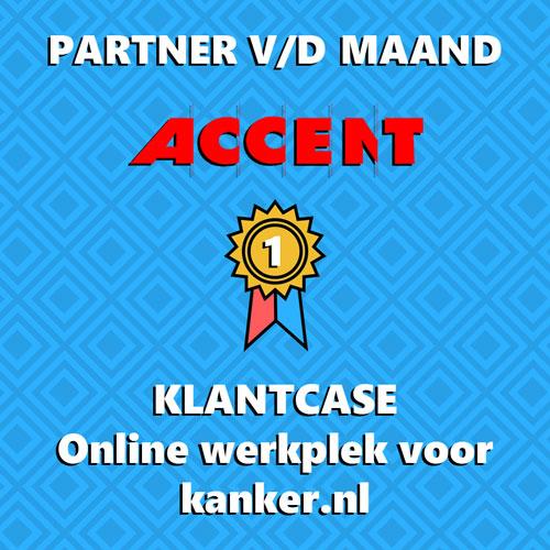 Partner v/d maand: Accent met Kanker.nl