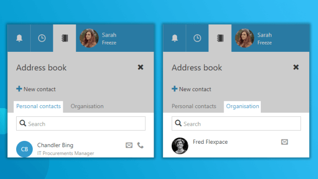 Global contacts Workspace 365