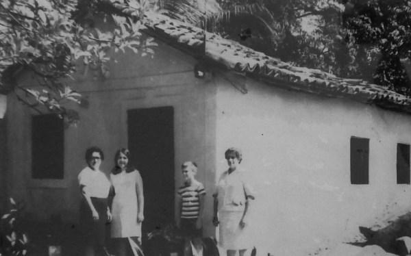 Retrato da casa nos 60 (Foto: acervo pessoal)