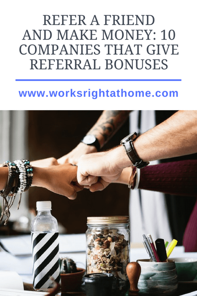 10 Companies with Referral Bonuses
