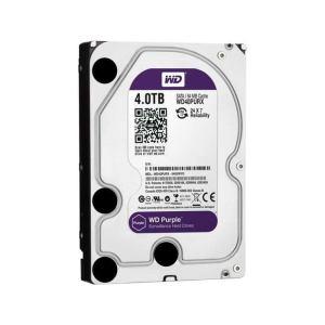 WD Purple 4TB Surveillance Hard Disk Drive - 5400 RPM Class SATA 6 Gb/s 64MB Cache 3.5 Inch - WD40PURZ