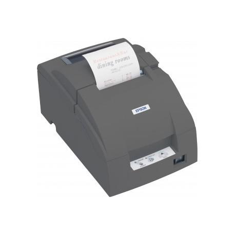 Imprimante ticket à impact Epson TM-U220D Série noire (Avec alimentation - Sans cordon secteur) - C31C515052