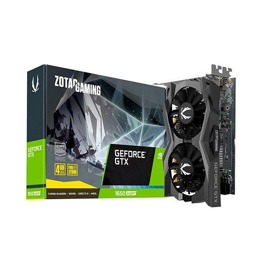 ZOTAC Nvidia GEFORCE GTX 1650 SUPER TWIN FAN 4GB GDDR6 ZT-T16510F-10L
