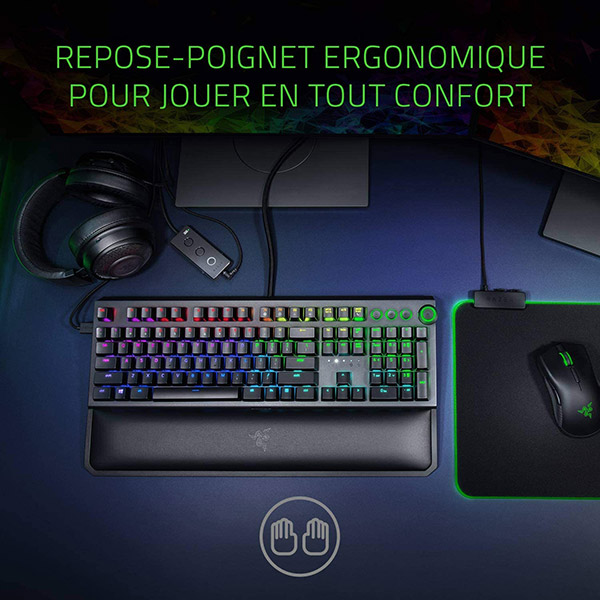 Razer Blackwidow Elite - Clavier de jeu mécanique