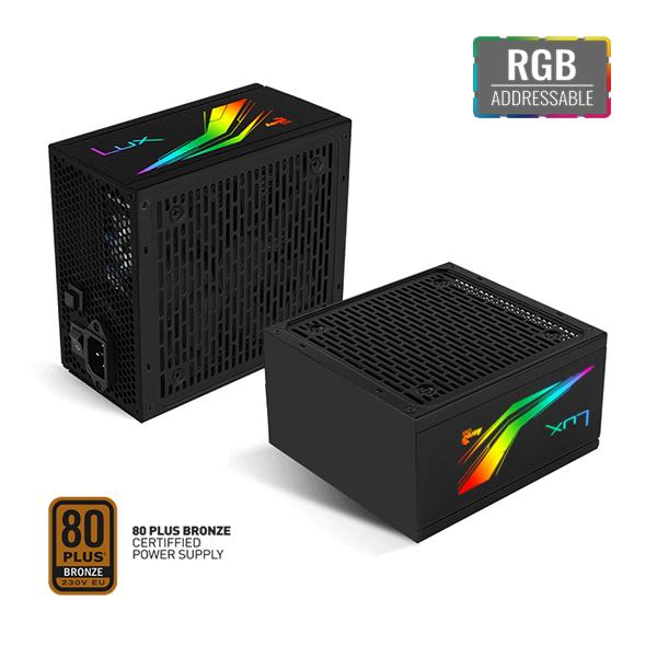 AEROCOOL LUX RGB 650w 550W ATX MODULAIR