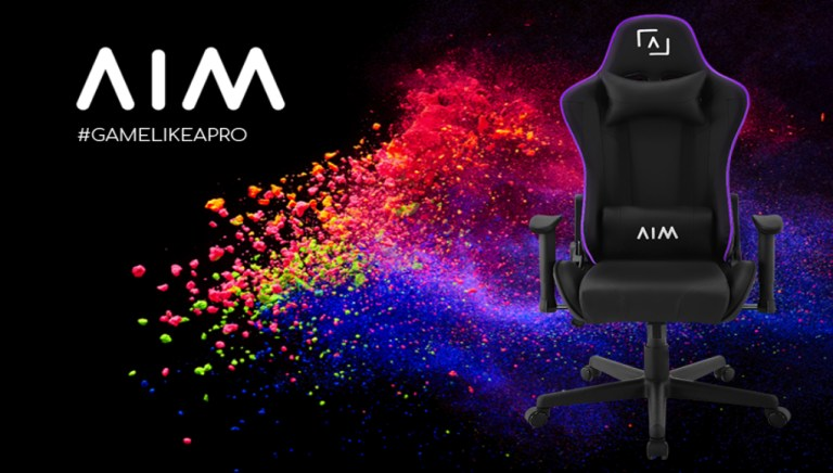 AIM E-SPORT RGB gaming chair FACE GLOBAL