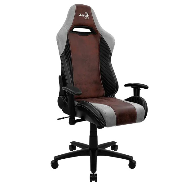 AeroCool BARON gaming chair red face 5