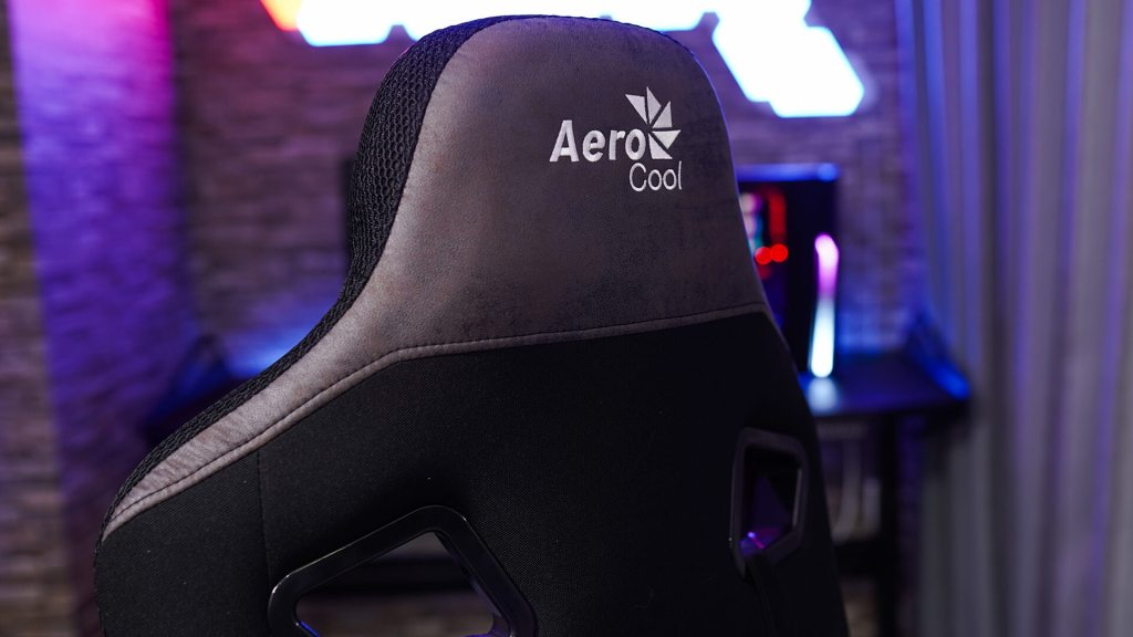 AeroCool COUNT Noir gaming chair face 5