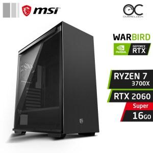WARBIRD X7 Ryzen 7 3700X 16Go Nvidia RTX 2060 Super PC GAMER PRO