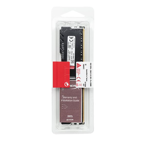 HYPERX FURY 8GB DDR4 2666MHz CL16 FACE 1
