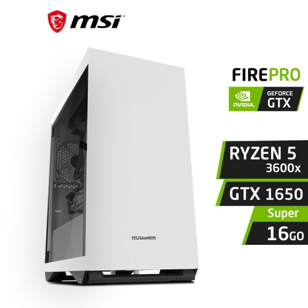 FIREPRO F5 Ryzen 5 3600x 16GB Nvidia GTX 1650 Super