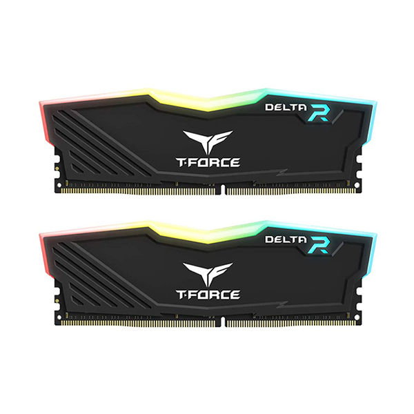 Team Group T-Force Delta 16 GB (2X8GB) 3000MHz Black FACE 2
