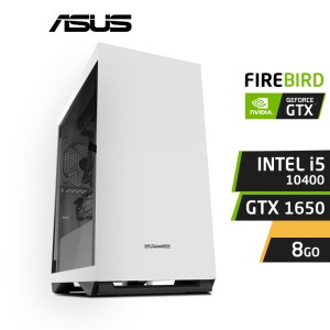 FIREBIRD F10 I5-10400 8GB GTX 1650 4GB PC Gamer