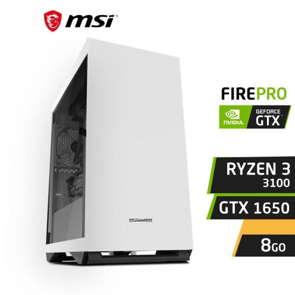 FIREPRO F3 Ryzen 3 3100 8GB Nvidia GTX 1650