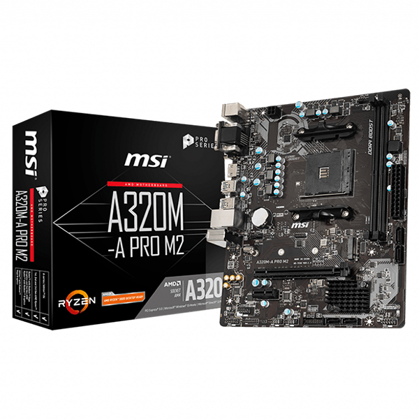 MSI A320M-A PRO M2 PHOTO 2