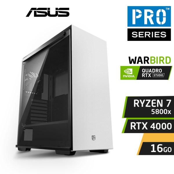 WARBIRD PRO 5800X 16x4.7GHz 16Go RTX 4000