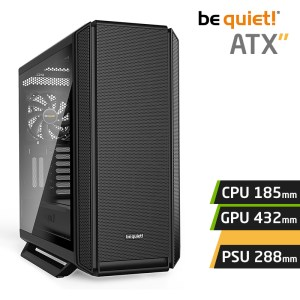 Be quiet! SILENT BASE 802 Window Black maroc