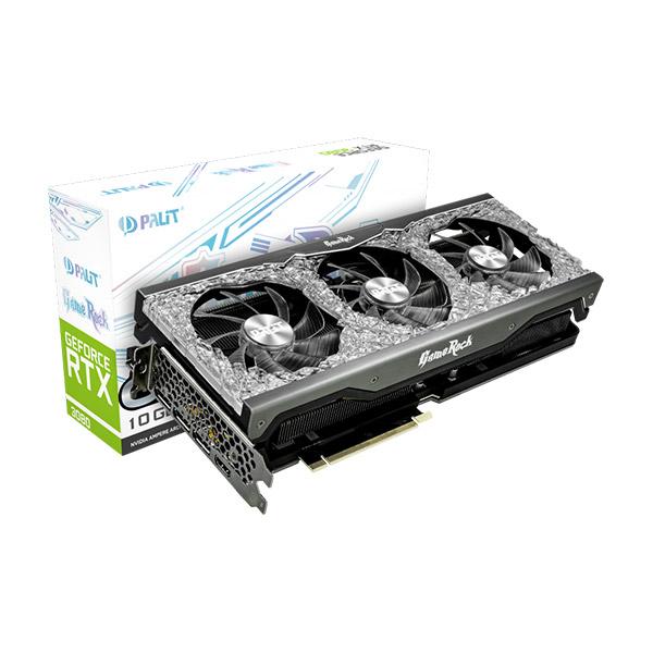 Palit GeForce RTX 3080 GameRock OC maroc