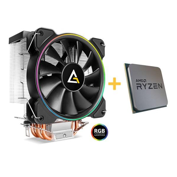 Bundle Amd Ryzen 5 3600 + ventilateur Antec A400