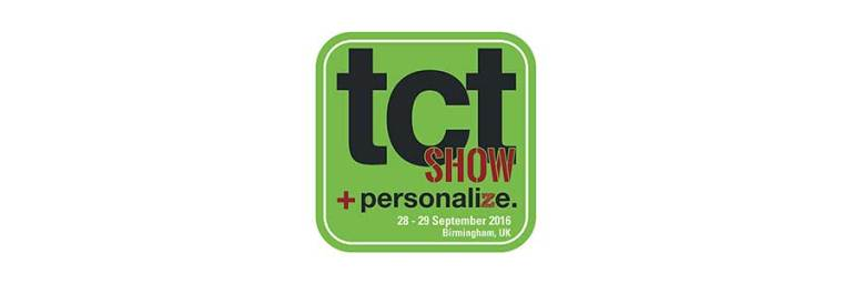 Join us at the TCT Show 2016 – 28th & 29th September 2016 Birmingham NEC