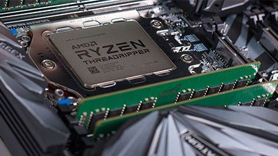 AMD Ryzen Threadripper In Motherboard