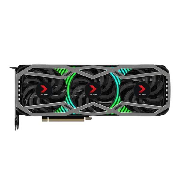 GeForce RTX 3080 EPIC-X RGB Triple Fan XLR8 Gaming Edition Top
