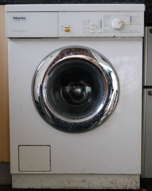 Spin cycle on a washing machine
