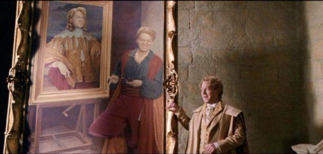Gilderoy Lockhart selfie painting