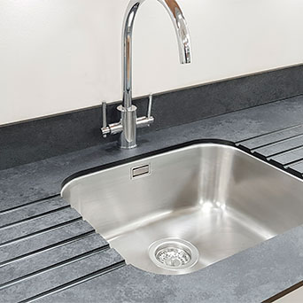 sink for solid laminate worktops